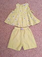 KEEDO Girl 12-18 Month Short Set