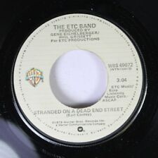 Soul 45 The Etc Band - Stranded On A Dead End Street / My Love On Wb