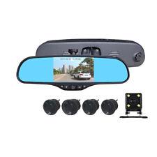 4.3'' Car Rear View Mirror Monitor Back Up Reverse Camera Parking System Radars