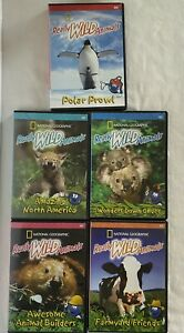National Geographic Really Wild Animals DVD Lot Polar Prowl Wonders down under +