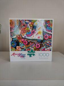 Roller Skate by Aimee Stewart,1000 piece jigsaw puzzle, Buffalo Games