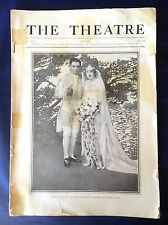 Antique Magazine The Theatre June 1915 XXI 172 Ernest Glendinning Leila Hughes