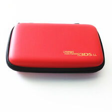 Red Hard Case Protective Carry Bag Pouch For Nintendo New 3DS XL / New 3DS LL
