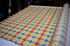 """SWAVELLE MILL CREEK STEFAN BAHAMA INDOOR OUTDOOR HOME DECOR FABRIC 54"""" SOLD BTY"""