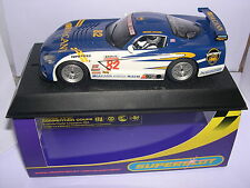 SUPERSLOT H2523 DODGE VIPER COMPETITION  #82  McCann  M.McCANN SCALEXTRIC UK  MB