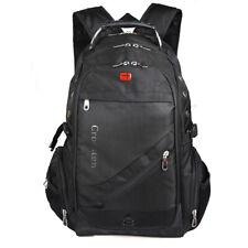"""Crossten Swiss Travel Bags Laptop Backpack 15"""" 17"""" Hiking Bag Waterproof Fabric"""