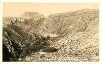 Claypool Tunnel Safford Arizona Frasher 1930s RPPC Photo Postcard 8407