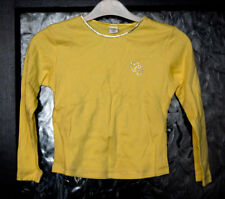 New without Tags Girls Long Sleeved Yellow Top By Adams - Age 6yrs