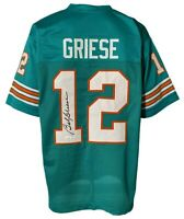 Miami Dolphins Bob Griese Autographed Pro Style Teal Jersey JSA Authenticated