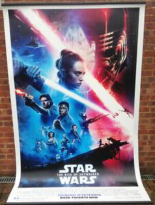 Cinema Banner: STAR WARS THE RISE OF SKYWALKER  2019 (Main) Mark Hamill