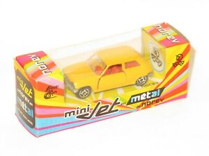 1970`s Norev mini-jet car  Renault 5 TL  Yellow   Made in France