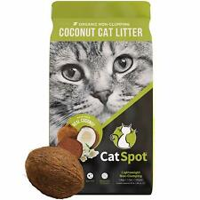 CatSpot: Non-Clumping Formula, 100% All-Natural Coconut Litter