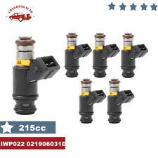 6 Fuel Injectors For VW Golf Jetta 99-02 EuroVAN 97 99-00 2.8L IWP022 021906031D