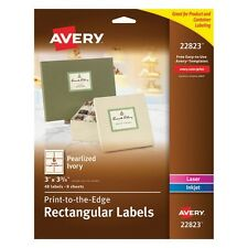 Avery Print-to-the-Edge Rectangular Labels - 22823