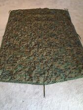 USGI Wet Weather Poncho Liner Woodland Marpat/Coyote Brown Reversible Woobie