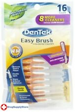 BL Dentek Easy Brush Cleaners Standard Spaces 16 Count - Two PACK