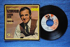 CHARLES AZNAVOUR / EP BARCLAY 71237 / RECTO 2  VERSO 3 / BIEM 1968 ( F )