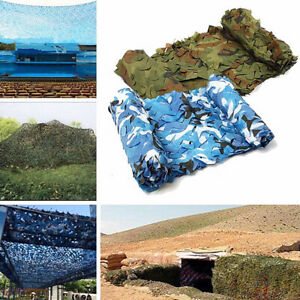 Camouflage Net Double-layer Camo Netting for Hunting Decoration Sun Shade GO