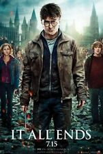 Imax HARRY POTTER AND THE DEATHLY HALLOWS banner 10x15ft massive