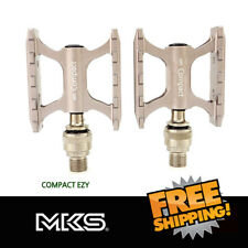 MKS Compact EZY Removable Pedal for Brompton Urban Classic Road Bike -Gray
