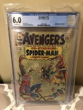 avengers 11 cgc 6.0 off white pages
