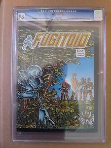 Fugitoid #1   (1st Print)   CGC 8.5  WP