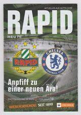 Orig.PRG   16.07.2016   SK RAPID WIEN - CHELSEA FC  !!  SELTEN