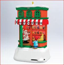 2011 Hallmark KRINGLEVILLE #2 Ornament KRINGLE'S CONFECTIONS Candy Shop