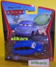 A - ALEX VANDEL - #45 Chase! Disney Pixar Mattel Cars 2 movie diecast toy car