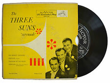 "THE THREE SUNS ""Serenade"" RCA Victor EP EPA-241 w/ Picture sleeve"