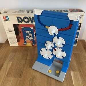 Boxed DOWNFALL MB Games Vintage Board Game 1977 - 4 Counters Missing