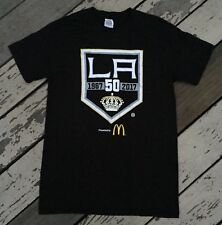 Los Angeles LA Kings Hockey 50th Anniversary 1967-2017 • Mens REEBOK Shirt SMALL