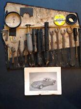 "Jaguar E-Type Genuine ""All Original"" Tool Roll Kit Series One & Knockoff Hammer!"
