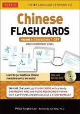 Chinese Flash Cards, Volume 1: Characters 1-349: HSK Elementary Level (Cards)