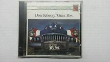 DON SEBESKY GIANT BOX CD DIGITALLY REMASTERED SEALED