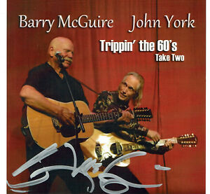 BARRY MCGUIRE'S STORE-TRIPPIN THE 60'S TAKE TWO CD NEW - AUTOGRAPH BY BARRY