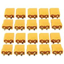 NEW 10 Pairs Female Male XT90 Banana Bullet Connector Plug For RC LiPo Battery U