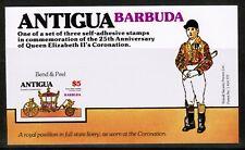 Barbuda Antigua 25th Anniversary Coronation 1978 SG  Booklet pane MNH UMM