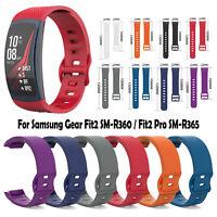 TPU-Armband Ersatz für Samsung Gear Fit2 SM-R360 Fit2 Pro SM-R365 Uhrenteile BM