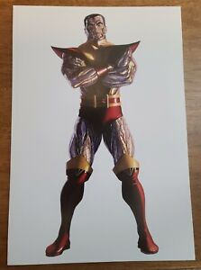 Colossus X-Men by Alex Ross Marvel Comics Poster