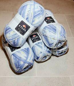 Eylul DK for Knitting / Crochet 5 x 100g Balls AMAZINGVALUE 184