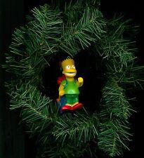 1990 Bart Simpson Figure custom themed Christmas tree ornament or hang wherever