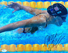 "Dana Vollmer Signed ""2012 London Olympics"" 11x14 Photo JSA"