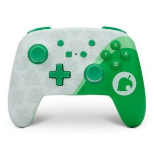 Nintendo Switch PowerA Rechargeable Wireless Controller - Animal Crossing