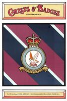 Postcard RAF Royal Air Force No.120 Squadron Crest Badge No.79 NEW