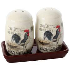 Set Poivre et sel Coqs en céramique