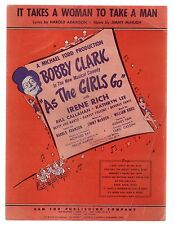 It Takes A Woman To Take A Man 1948 As the Girls Go Sheet Music