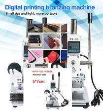 Press Trainer Stamping Machine Leather Wood Paper Branding 57cm Foil Holder Ap