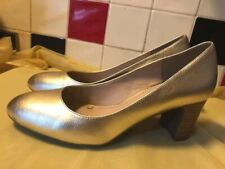Footglove - Ladies Gold Court Shoes - UK 5 - WORN ONCE