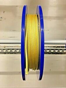 4mm White - Yellow Robline Dinghy Control Line SK78 Dyneema Core
